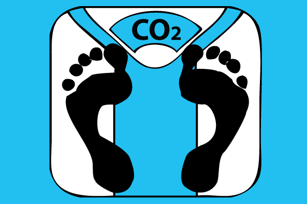 Carbon offset by the pound